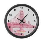 San Francisco Large Wall Clock