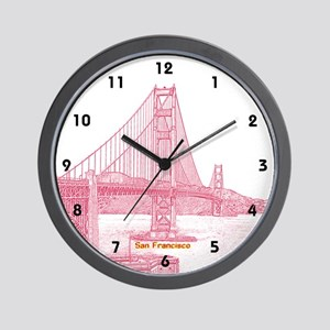 San Francisco Wall Clock