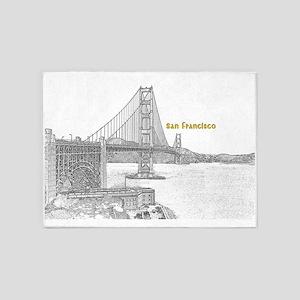 San Francisco 5'x7'Area Rug