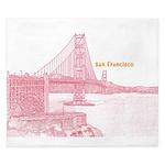 San Francisco King Duvet