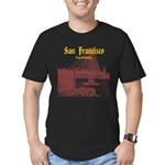 San Francisco Men's Fitted T-Shirt (dark)