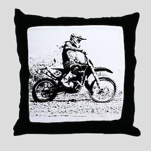 Enduro Throw Pillow