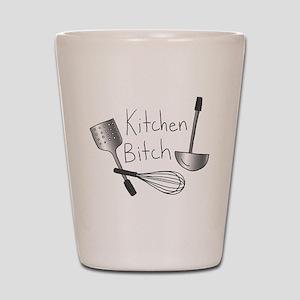 Kitchen Bitch Shot Glass