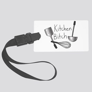 Kitchen Bitch Large Luggage Tag