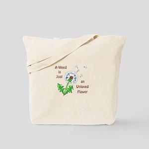 AN UNLOVED FLOWER Tote Bag