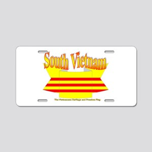 Viet Nam Cong Hoa Flag Aluminum License Plate