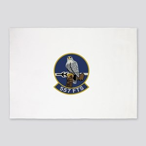 557 Flight Test Squadron 5'x7'Area Rug