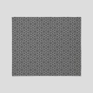 Modern Trendy Contemporary Pattern Throw Blanket