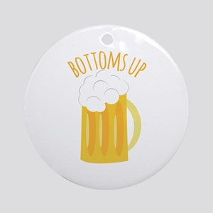 Bottoms Up Ornament (Round)