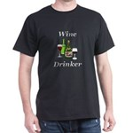Wine Drinker Dark T-Shirt