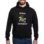 Wine Drinker Hoodie (dark)