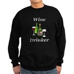 Wine Drinker Sweatshirt (dark)