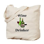 Wine Drinker Tote Bag
