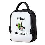Wine Drinker Neoprene Lunch Bag