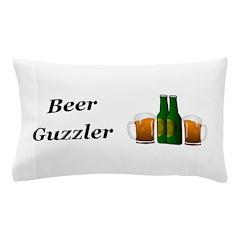 Beer Guzzler Pillow Case