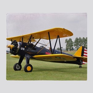 Stearman (2) Throw Blanket