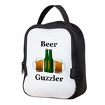 Beer Guzzler Neoprene Lunch Bag