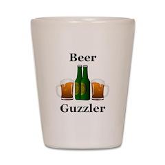 Beer Guzzler Shot Glass