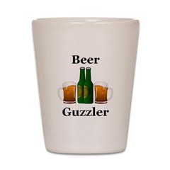 Beer Guzzler Shot Glass