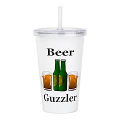 Beer Guzzler Acrylic Double-wall Tumbler