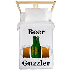 Beer Guzzler Twin Duvet