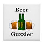 Beer Guzzler Tile Coaster