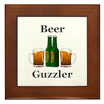 Beer Guzzler Framed Tile