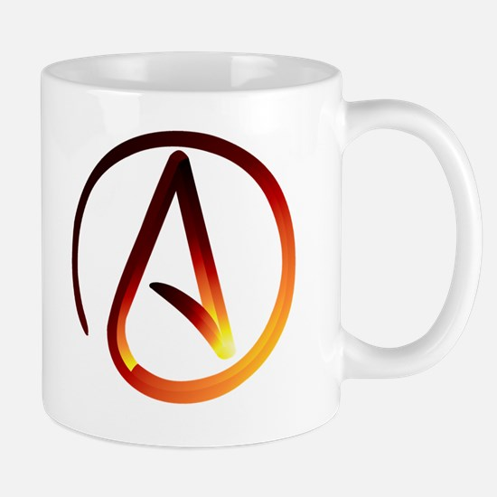 Hot Atheist Symbol Mug