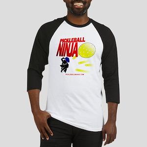 Pickleball Ninja Baseball Jersey