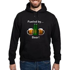 Fueled by Beer Hoodie (dark)