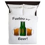 Fueled by Beer Queen Duvet
