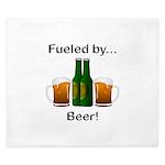 Fueled by Beer King Duvet