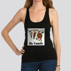My Family Racerback Tank Top