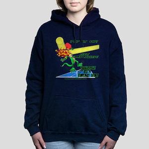 Pickleball Smash Women's Hooded Sweatshirt