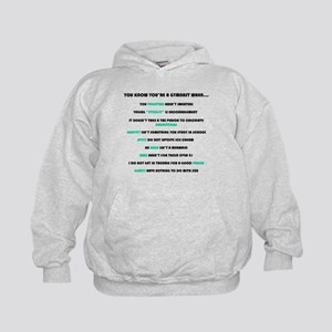 You Know You're a Gymnast When Kids Hoodie