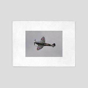 Spitfire Mk.IXb 5'x7'Area Rug