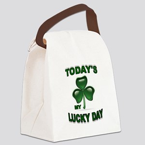LUCKY DAY Canvas Lunch Bag