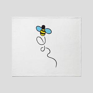 BEE BUZZING Throw Blanket