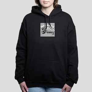 Melanoma Stinks! Women's Hooded Sweatshirt
