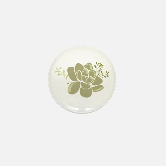 Succulents Base Mini Button