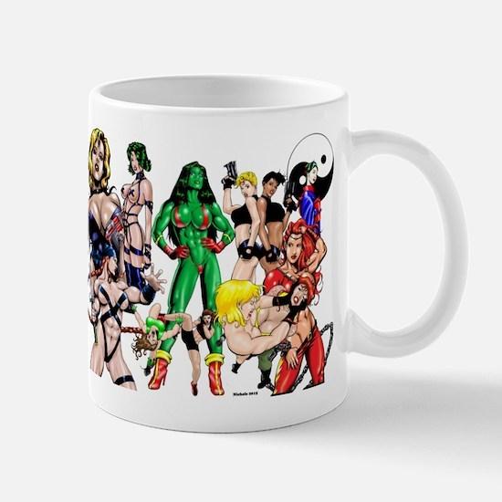 Brawlin' Babes Deluxe Mugs