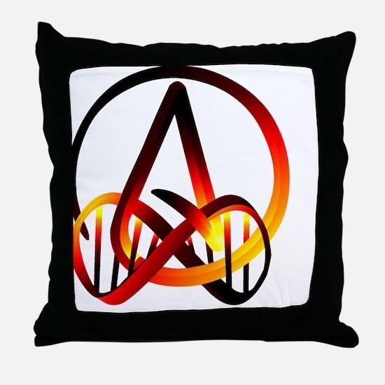Atheist Forever Throw Pillow