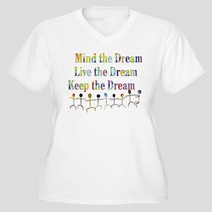 KeepDream10x8 Plus Size T-Shirt