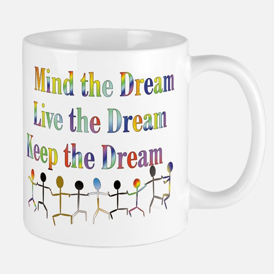 KeepDream10x8 Mugs