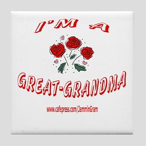 GREAT GRANDMA 1 Tile Coaster