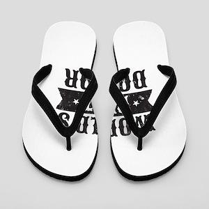 World's Best Doctor Flip Flops