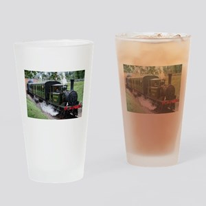 Steam Train Drinking Glass
