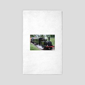 Steam Train Area Rug