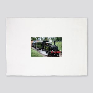 Steam Train 5'x7'Area Rug