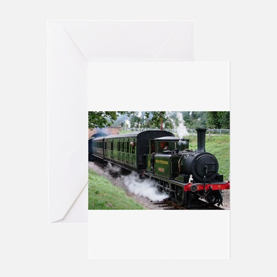 Steam Train Greeting Cards